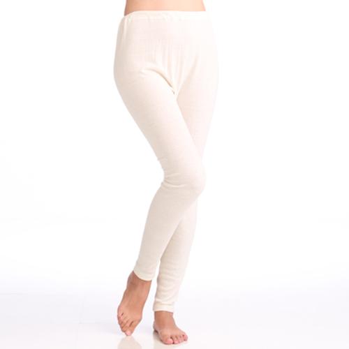 婦人スラックス下 (つむいだシルクのやさしい肌着シルク100%)日本製