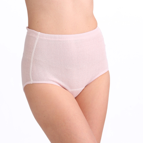 婦人ショーツ (つむいだシルクのやさしい肌着シルク100%)日本製