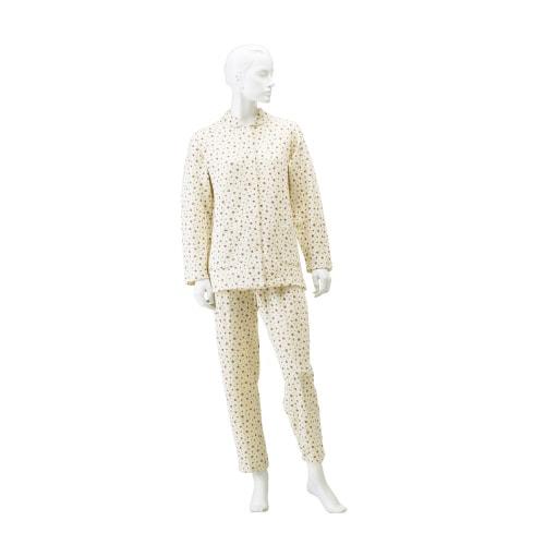婦人楽らくキルトパジャマ 上下セット(冬用)マジック式