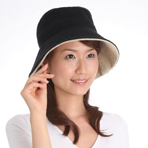 特価//シルクUVカット帽子 日本製