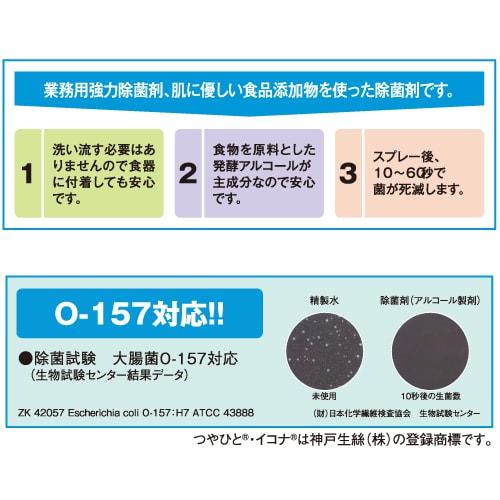 アルコール除菌剤「イコナ」 日本製 つめ替え用 10L入