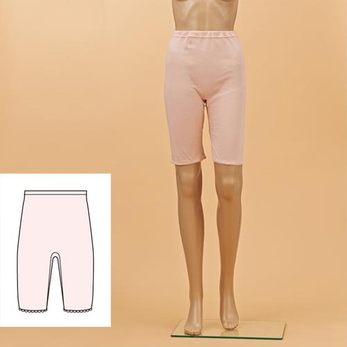 5分パンティ  婦人用 (日本製 綿100%肌着)   [PC716]