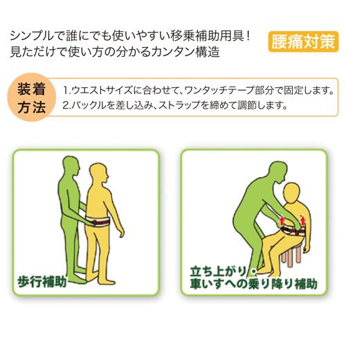 介助ベルト「らくベル」 移乗補助用具  日本製