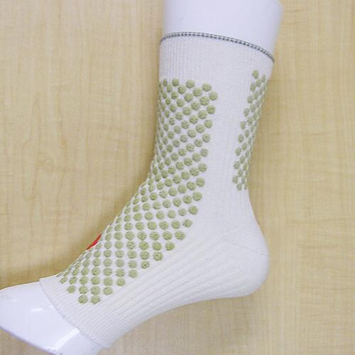 シルク もぐさサポーター    「温恵」 足首用 2枚組 日本製