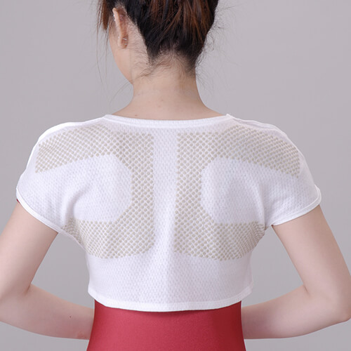 シルク もぐさサポーター  「温恵」  肩用 1枚入り 日本製
