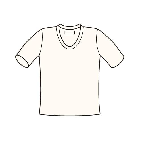 発熱肌着・ミラクルホット綿 紳士U首半袖シャツ わけあり特価品 50%OFF [MH161]