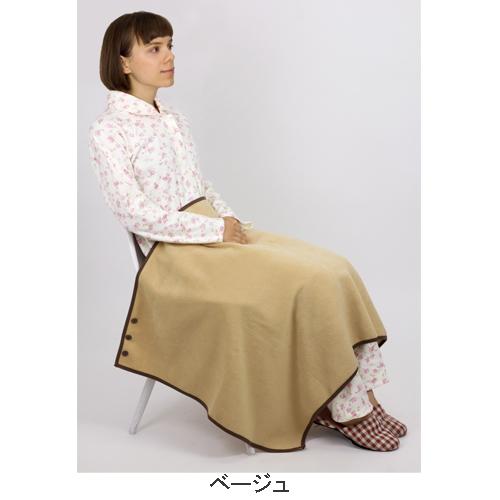 防寒フリース マルチひざかけ(ひざ掛け、肩掛け、巻きスカート風にも使えます)日本製