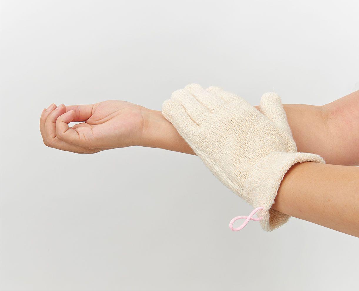 【新発売】浴用ボディーウォッシュ手袋(1双 )