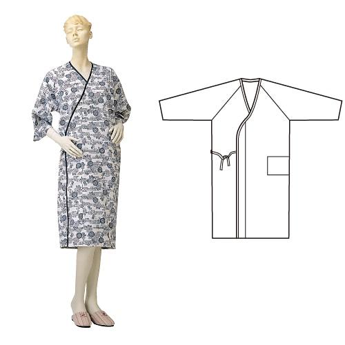 婦人ガーゼ合わせ(湯上り) ひば抗菌加工 乾燥機可 日本製